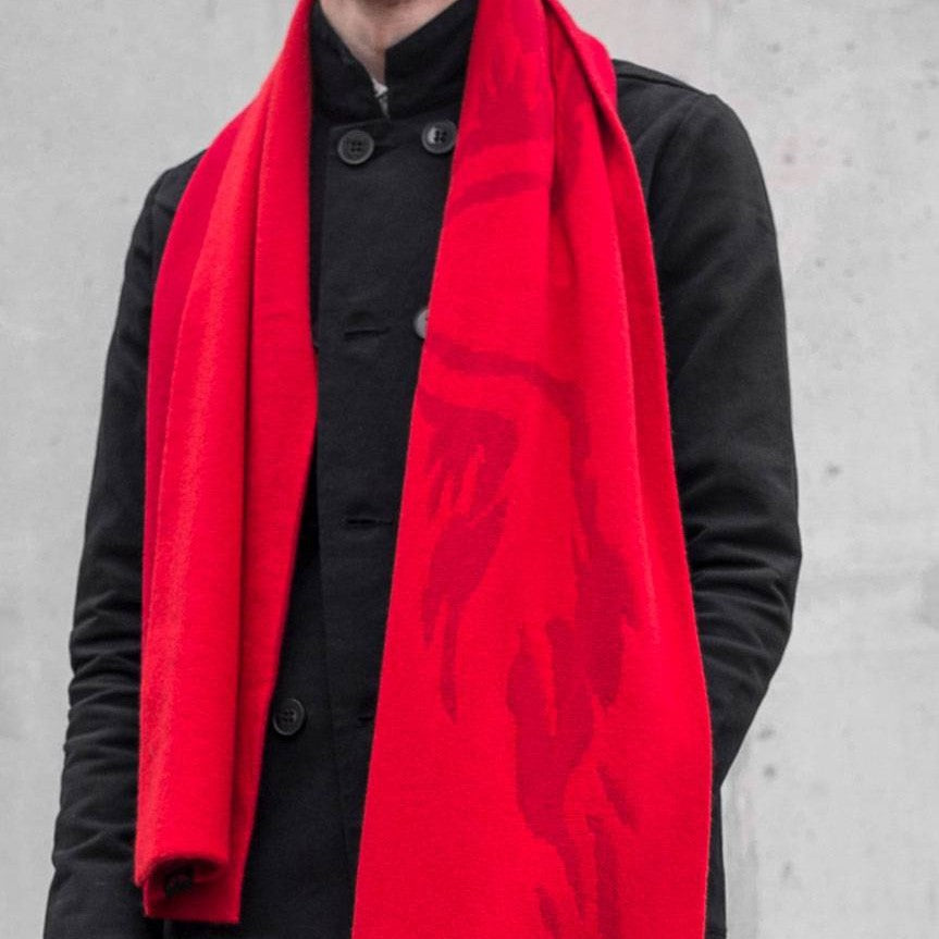 FLAME WING SCARF