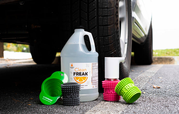 ECOFREAKS™: Automatic Car Dispenser with Koozie
