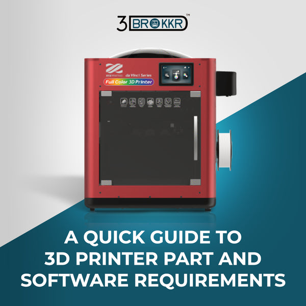 A Quick Guide to 3D Printer Parts and Software Requirements