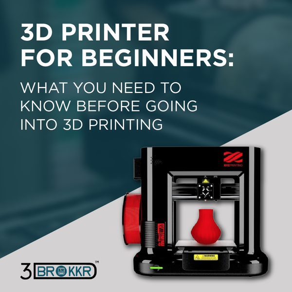 3D Printer for Beginners: What You Need To Know Before Going Into 3D Printing