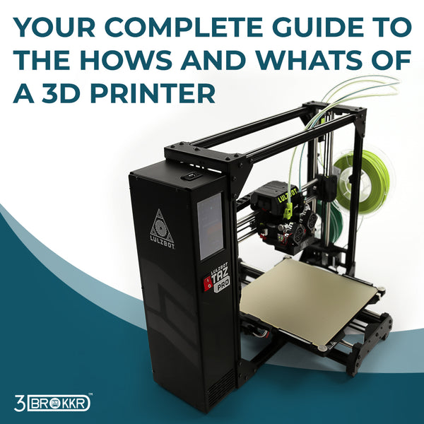 Your Complete Guide To the Hows and Whats of a 3D Printer