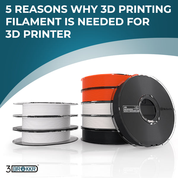 5 Reasons Why 3D Printing Filament is Needed For 3D Printer