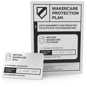 MakerCare Extended Warranty For Makerbot Method 3D Printers - 3D Brokkr