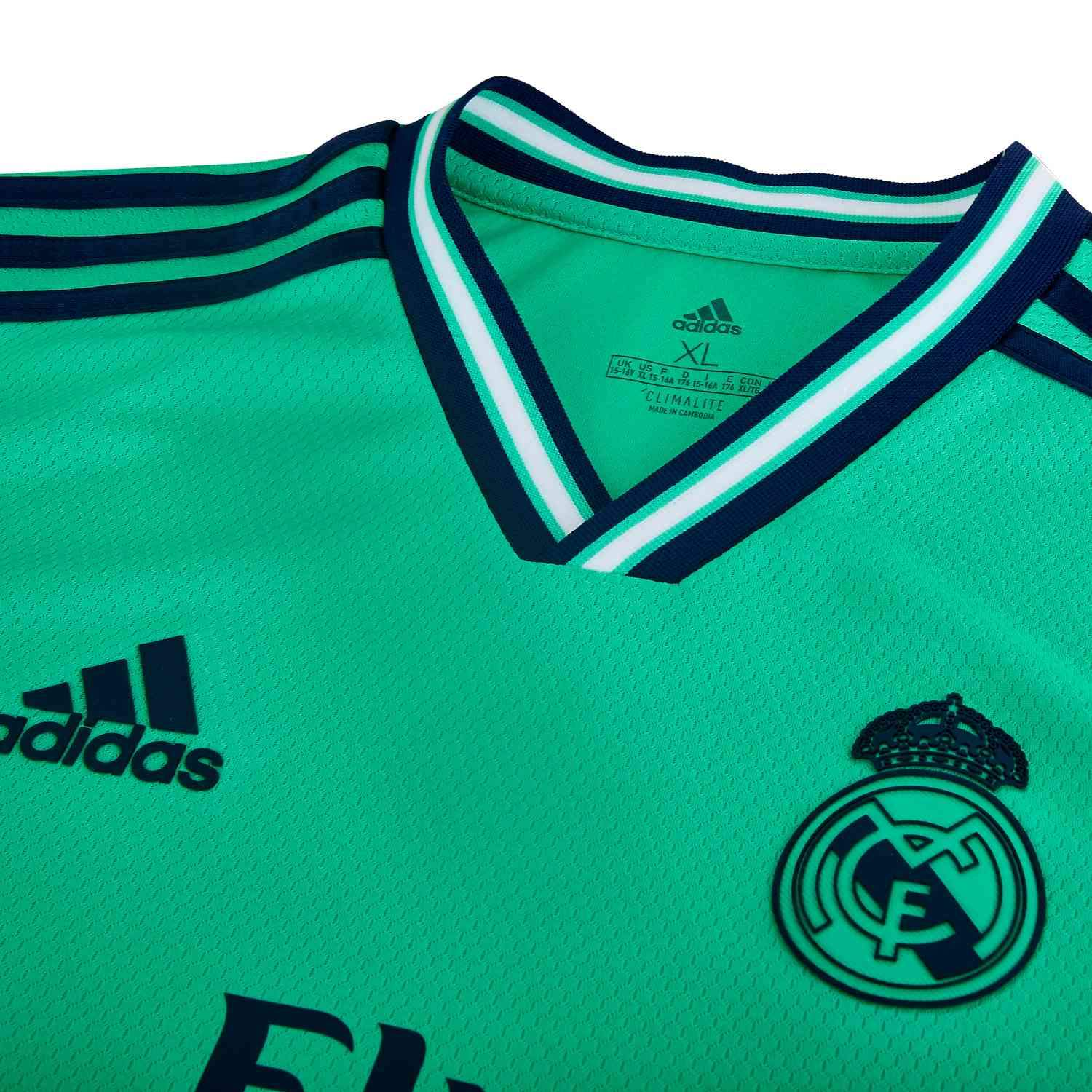 adidas Kid's Real Madrid 3rd Jersey | DX8917