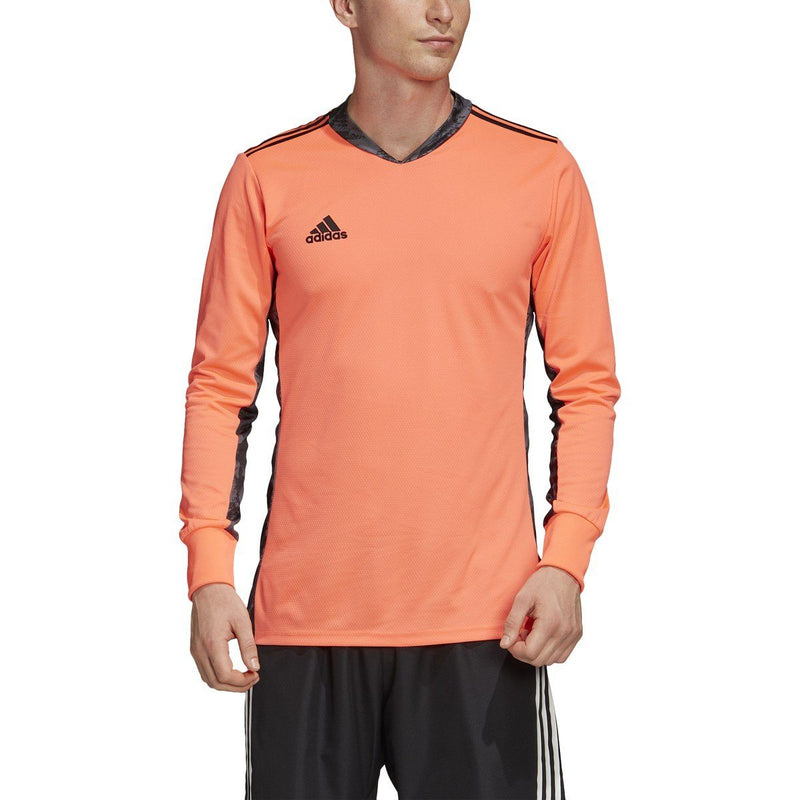 adidas Men's Adipro 20 Goalkeeper Jersey | FI4191 Long Sleeve Adidas Adult Medium SIGNAL CORAL/BLACK