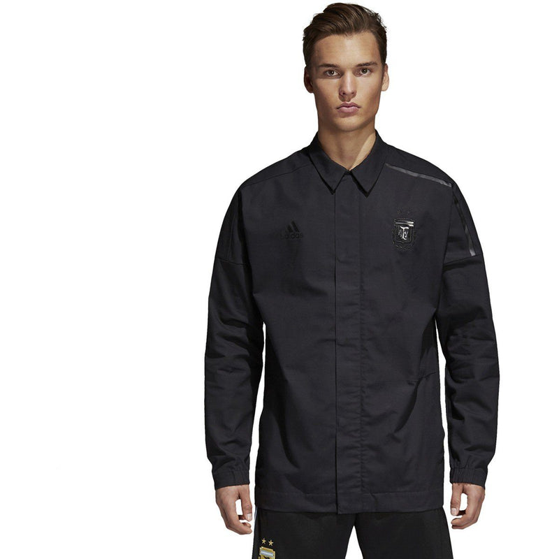 adidas Men's Argentina Z.N.E. Jacket | CE6644 Licensed-Apparel adidas Adult Small Black
