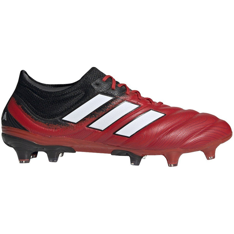 adidas Men's Copa 20.1 Firm Ground Boots | EF1948 Cleats Adidas 8 Active Red / Cloud White / Core Black