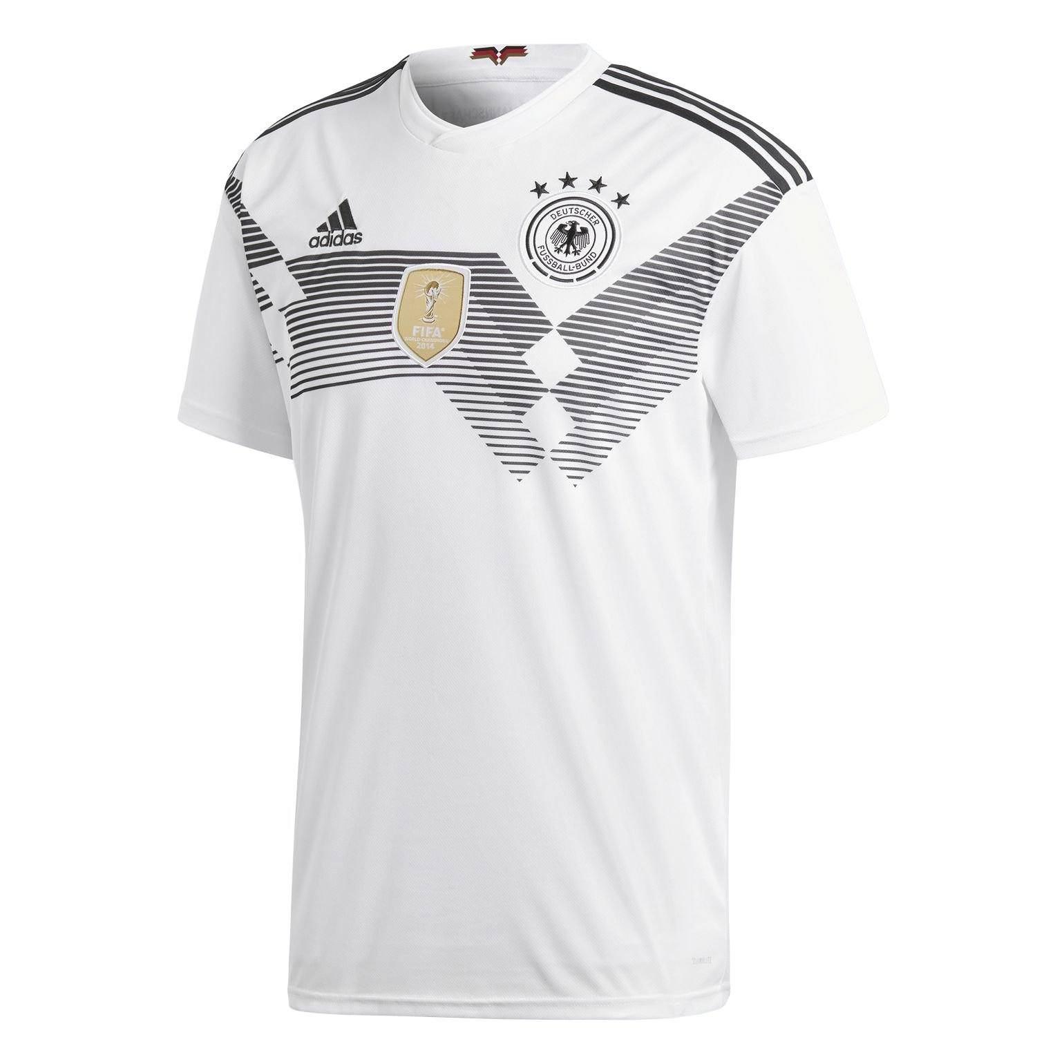 adidas Men's Germany Home Jersey | BR7843 Licensed-Apparel adidas Small White/Black