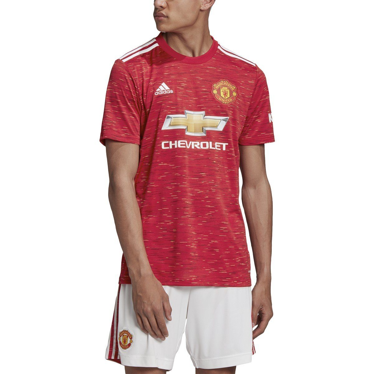 adidas Men's Manchester United Home Soccer Jersey 2020-21 | GC7958 ...