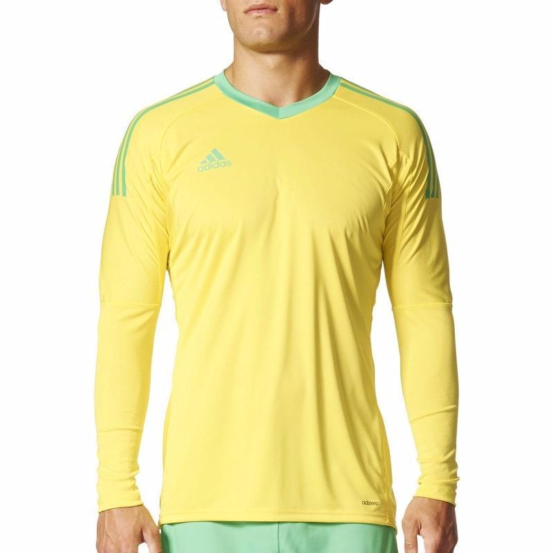 adidas Men's Revigo 17 Goalkeeper Jersey Goalkeeper Gear Adidas Adult X-Small Yellow