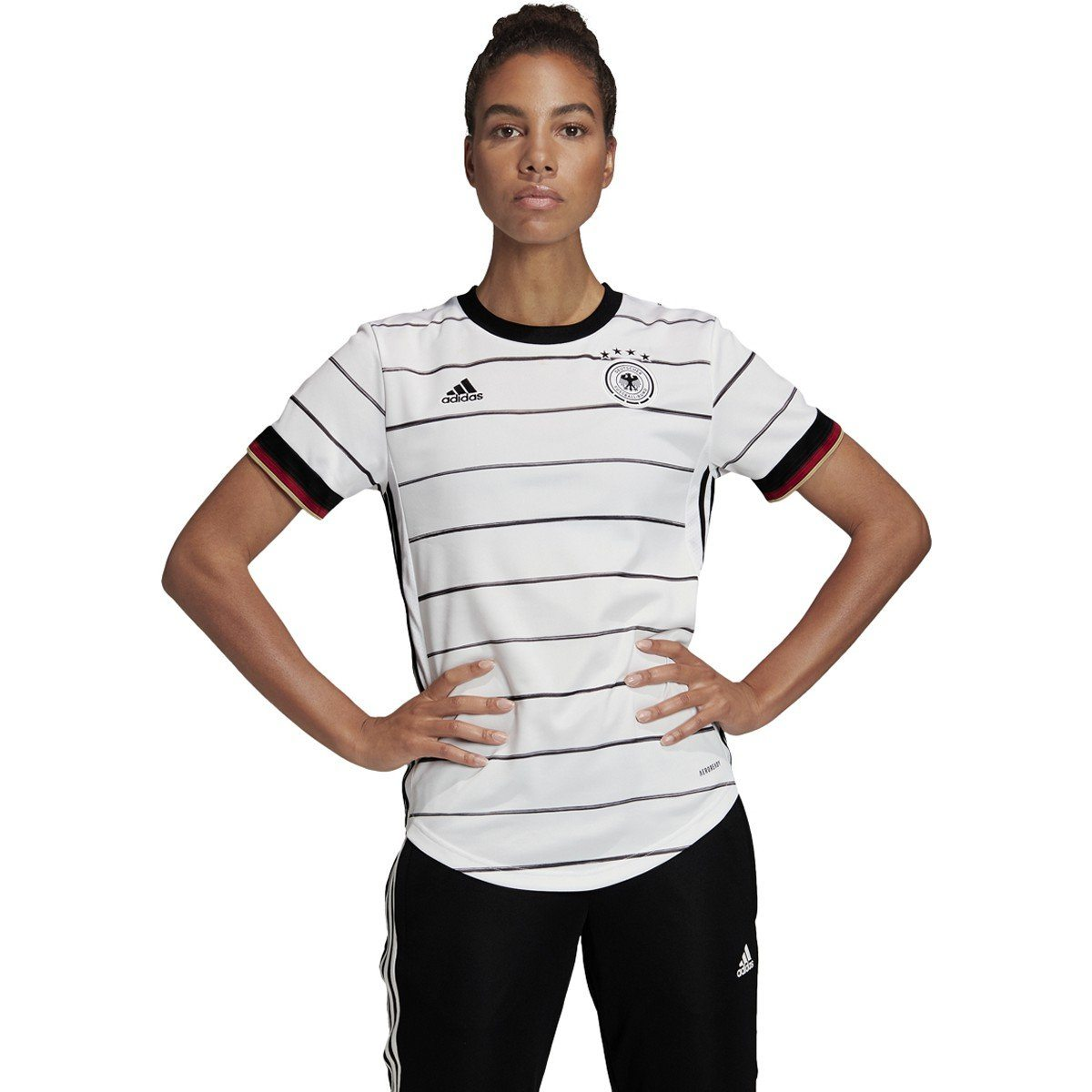 adidas Women's Germany Home Jersey | EH6102 Apparel Adidas Small White