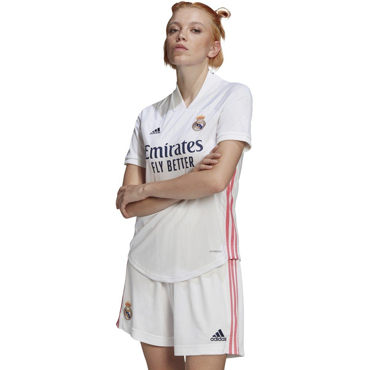 adidas Women's Real Madrid 20/21 Home Jersey | FQ7483 Jersey Adidas