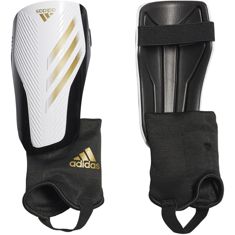 adidas X 20 Match Shin Guards | FT6593 Shinguards Adidas Small White / Gold Metallic / Black