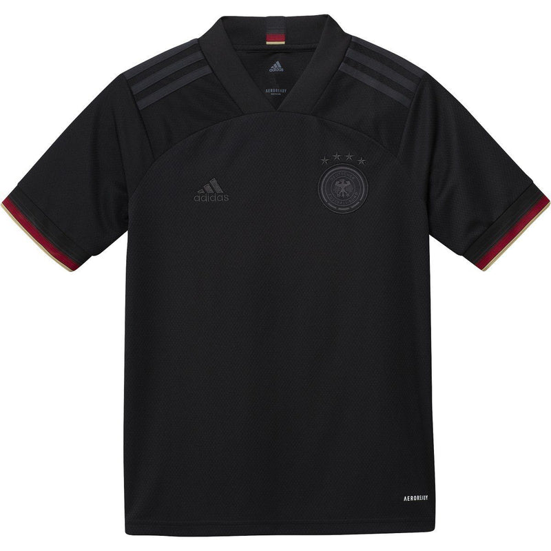 adidas Youth 2020-21 Germany Away Jersey | EH6114 Jersey Adidas Youth Medium Black