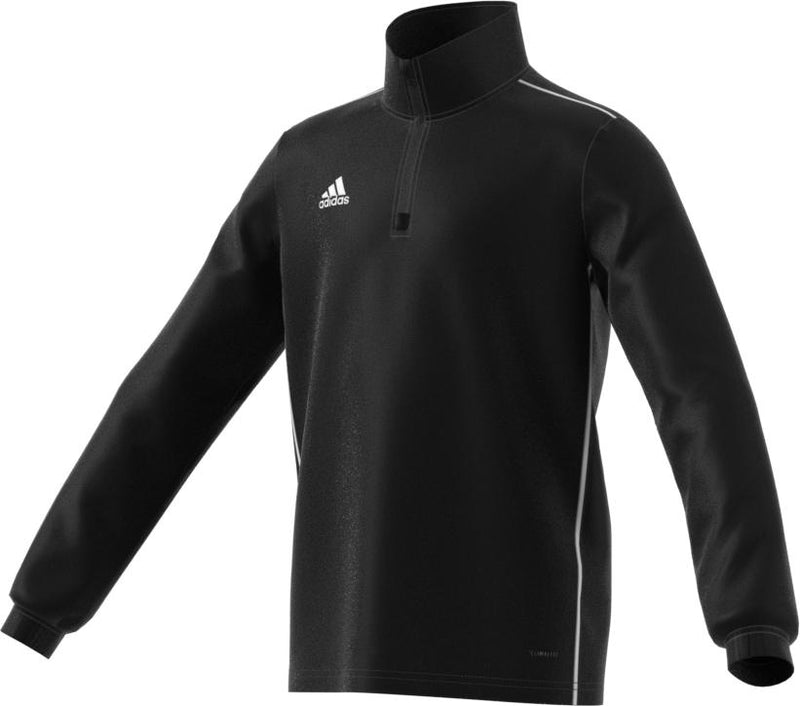 adidas Youth Core 18 Training Top | CE9028 Apparel adidas Youth XXS black/white