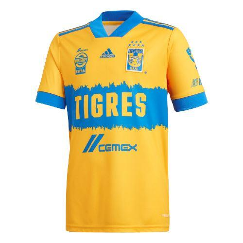 adidas Youth Tigres UANL 20/21 Home Jersey   FR2301