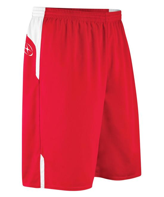 Boy's Xara Continental Shorts Team Shorts Xara Youth Medium Red/White