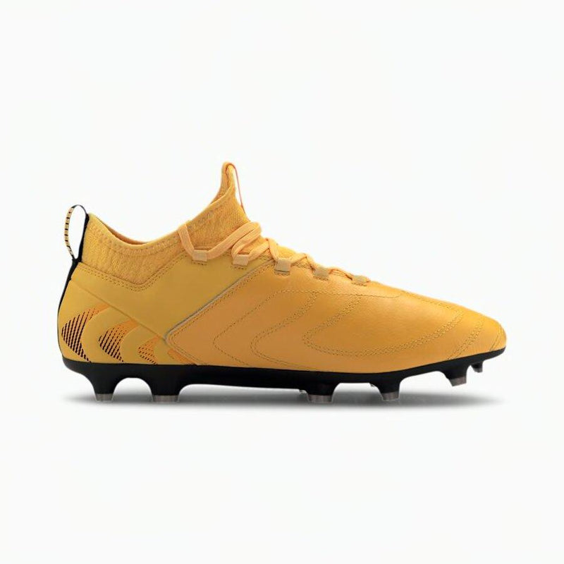 Puma men FG/AG Soccer Cleats | 10582601 Cleats Puma 8 Ultra Yellow/Black/Orange