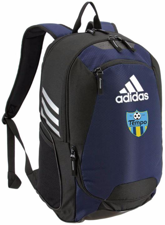 Tempo Soccer Club Adidas Stadium Backpack II Bags Adidas