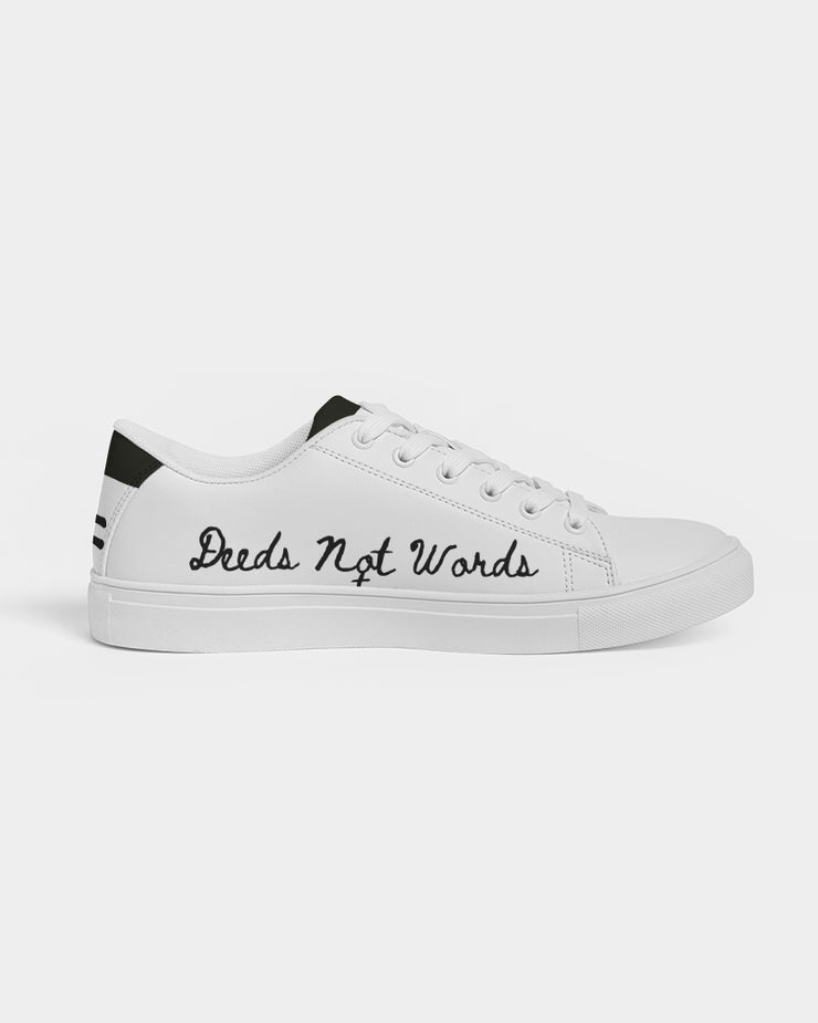 """DEEDS NOT WORDS"" Women's Shoes (Limited Edition)"