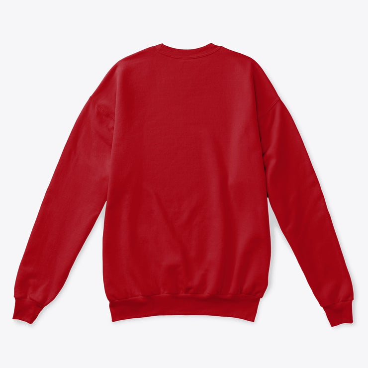 """FEEL RED"" Unisex Sweatshirt"