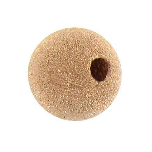 Beads. Gold Filled 8.1mm Width / Length / Height, Round Stardust Bead. Quantity per pack: 10 Pieces.