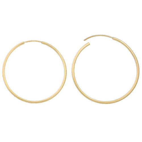 Ear Findings. 14kt Gold Filled 15.0 Gauge, 26.5mm Width / Length Infinity / Endless Hoop. Quantity Per Pack: 4 Pieces.