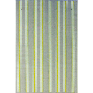 Vertical Stripe Gray Yellow