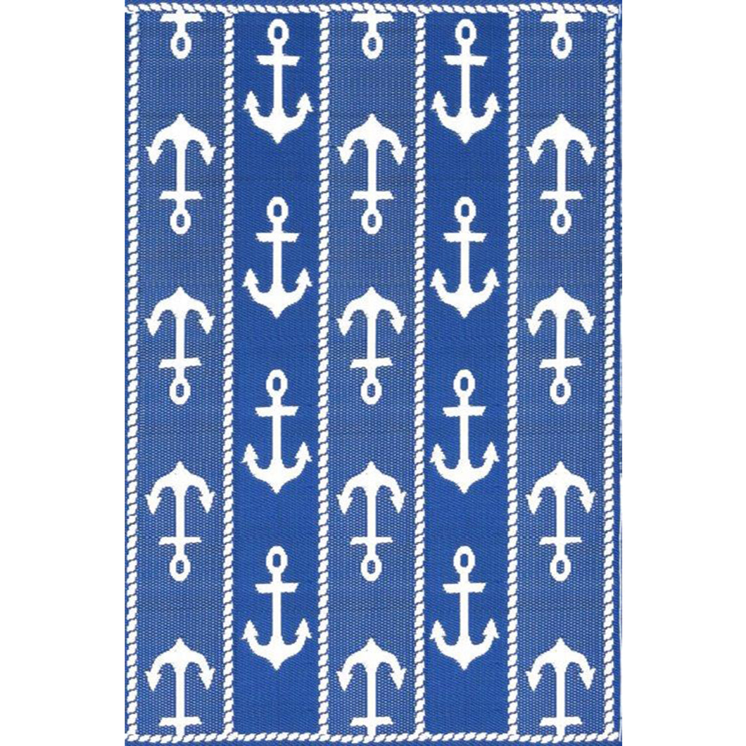 Anchor Blue White