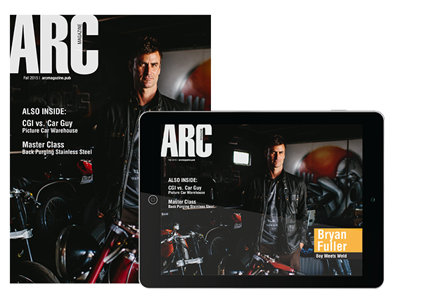 ARC Magazine Available in Tablet Version | Bryan Fuller