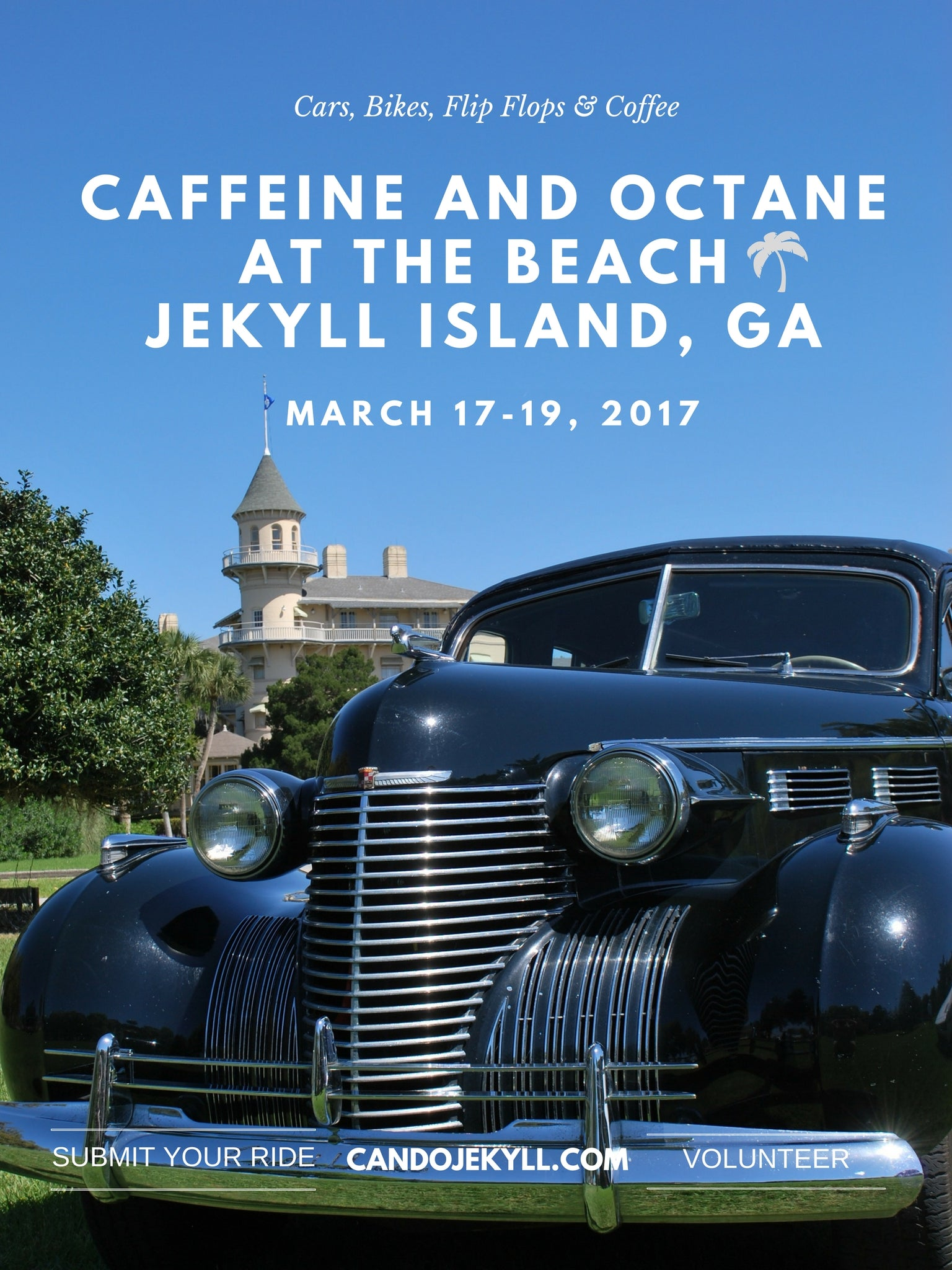 Caffeine and Octane Car Show Jekyll Island