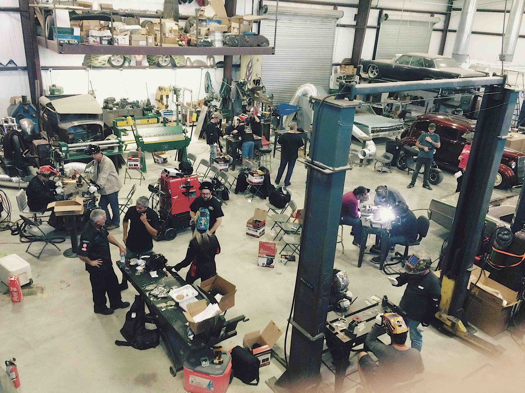 Full-Bore LIVE! Welding Workshop at Martin Bros Customs