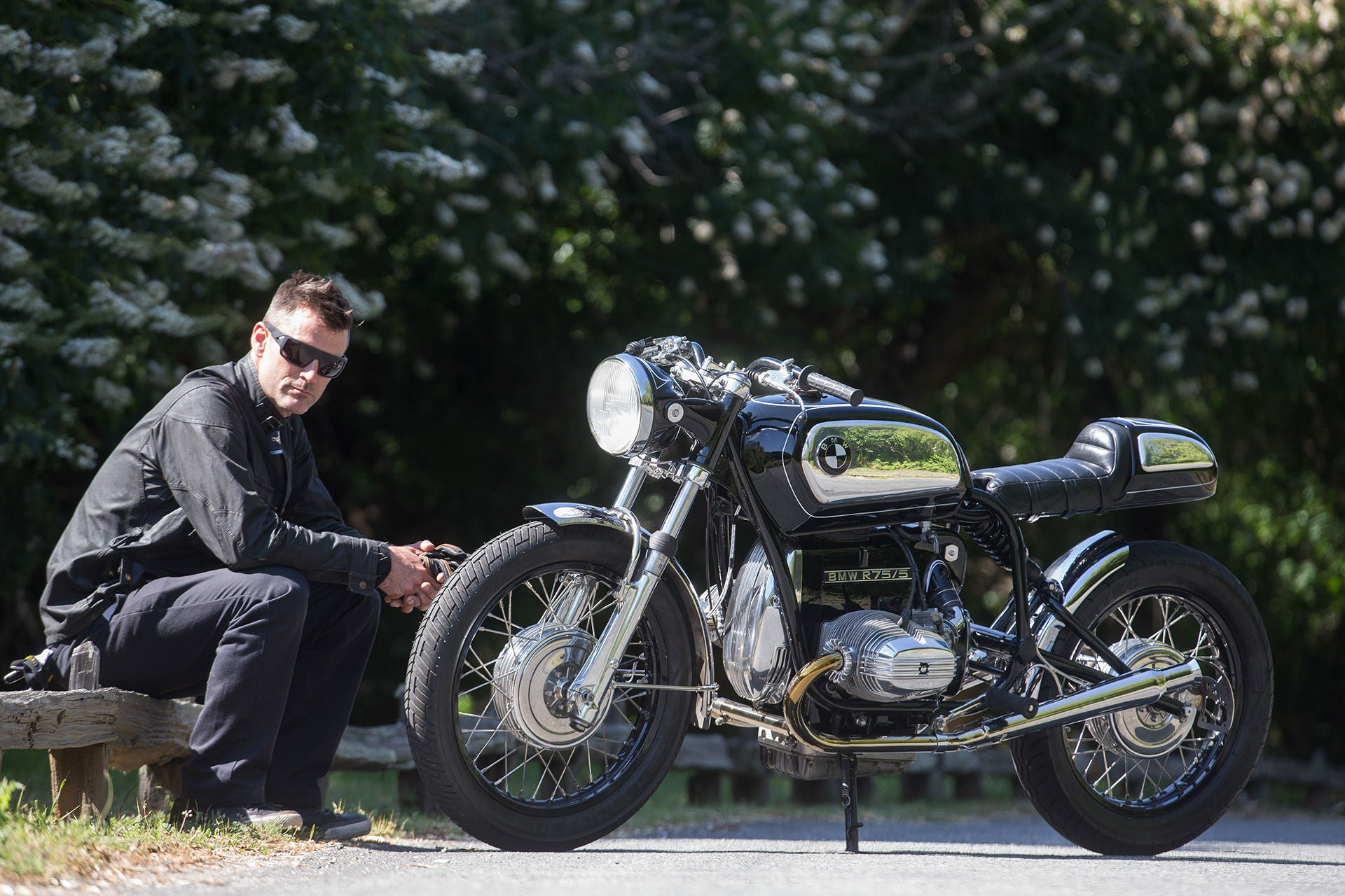 Bryan Fuller Fuller Moto | BMW R75-5 Cafe Racer Bavarian Knight Cycle World