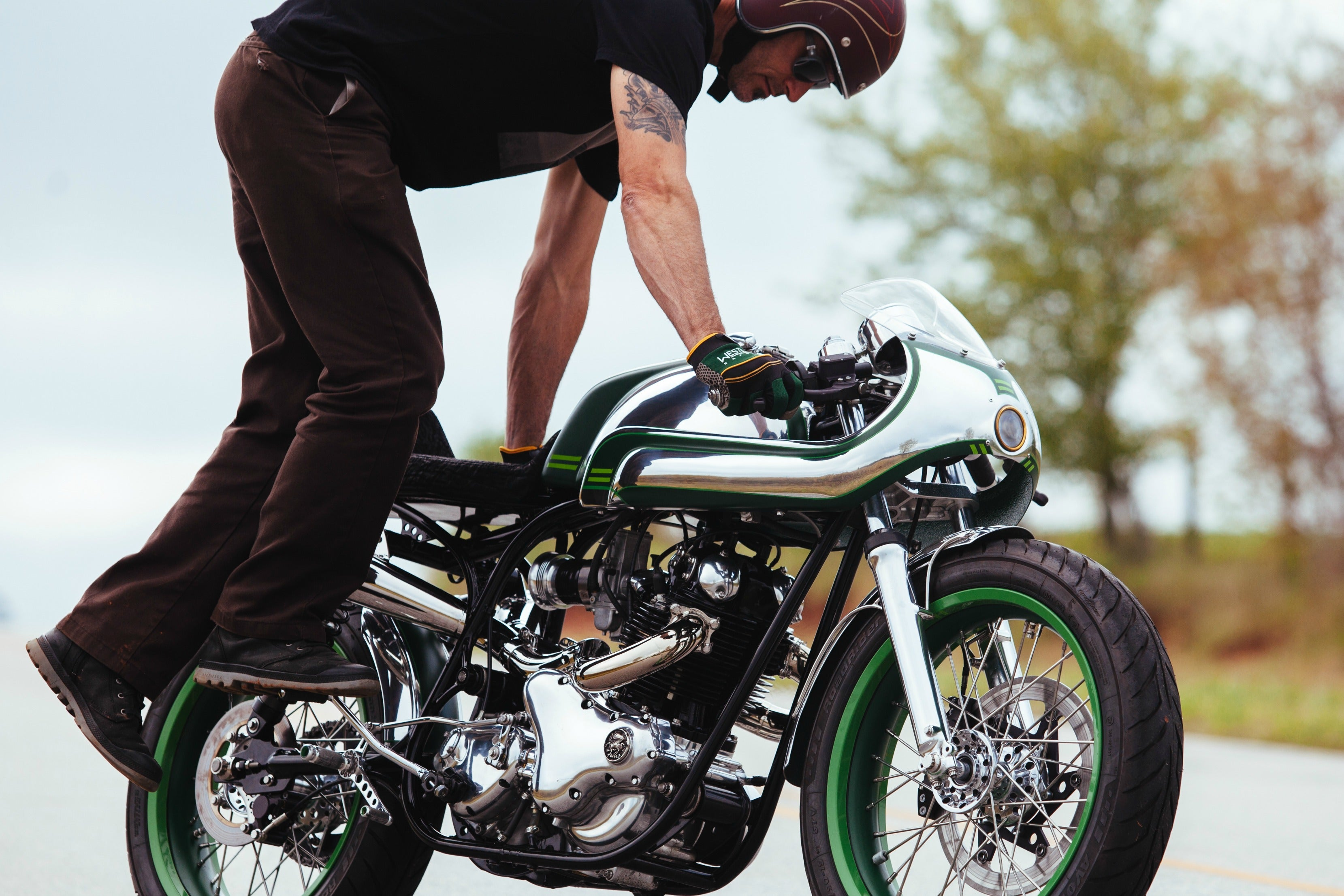 Fuller Moto | Norton Misty Green