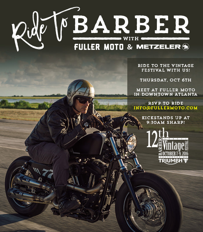 Fuller Moto | Ride to Barber Vintage Festival