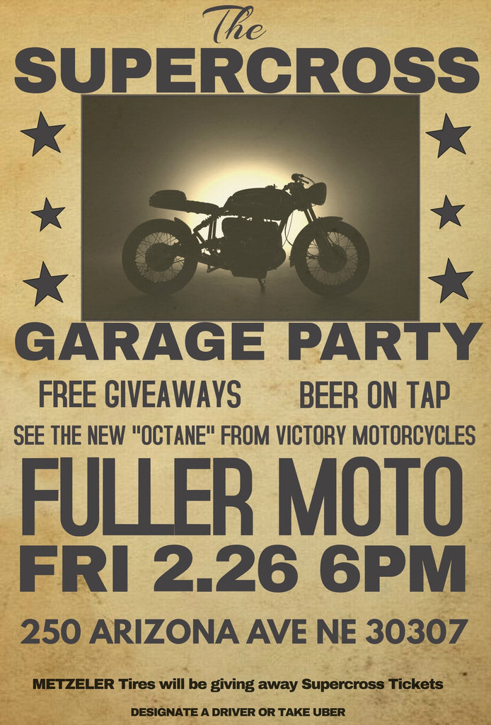 Supercross Garage Party at Fuller Moto