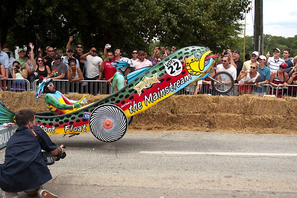 Red Bull Soapbox Derby Race Atlanta 2015 | SweetWater Brewery and Fuller Moto
