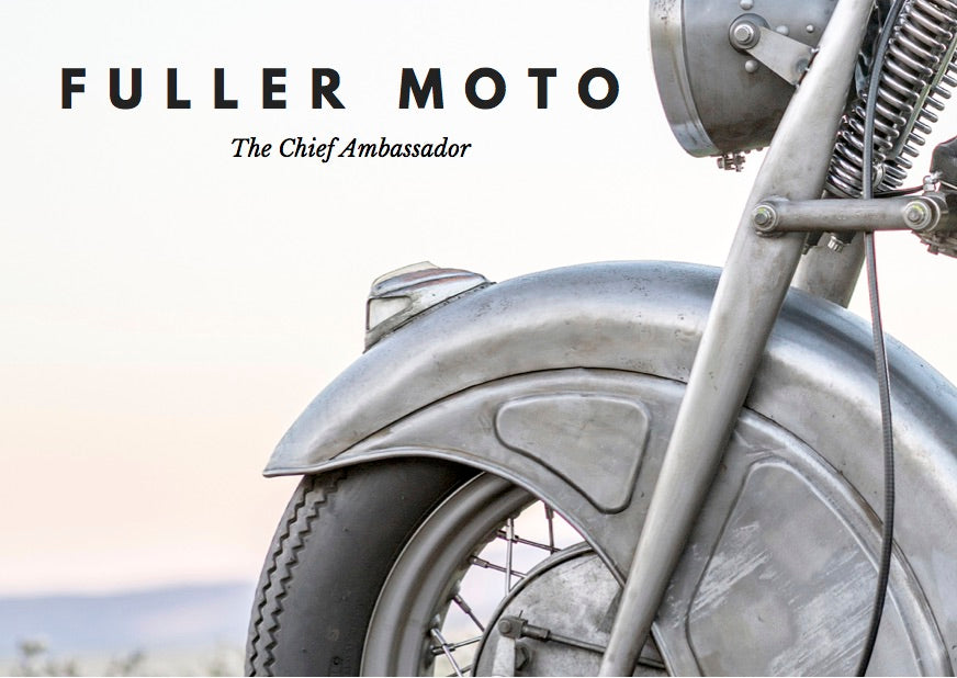 The Indian Chief Ambassador by Fuller Moto