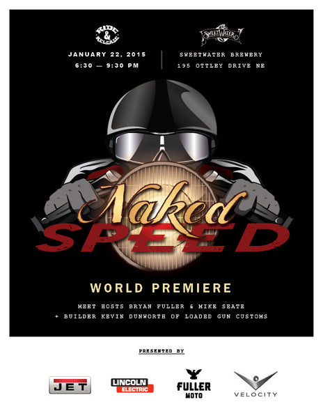Naked Speed World Premiere Party at SweetWater Brewery Atlanta, Georgia