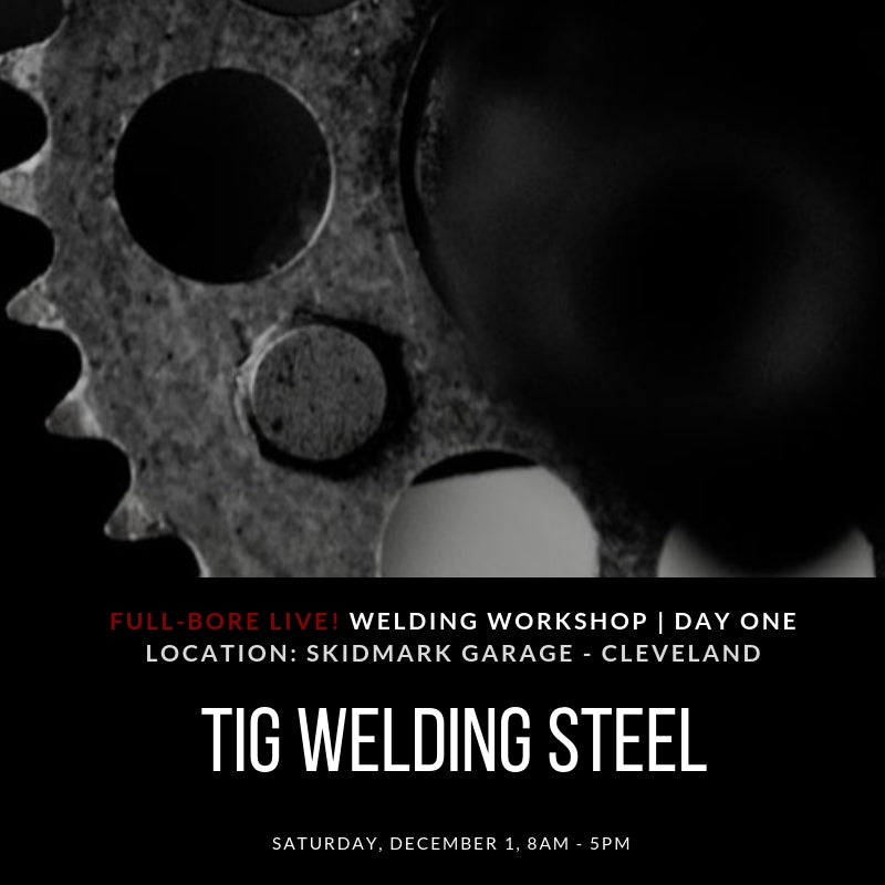 TIG Welding Steel 1-day Workshop - Day One - CLEVELAND