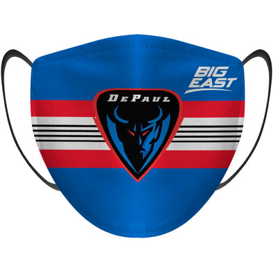 Big East Conference Depaul Face Mask