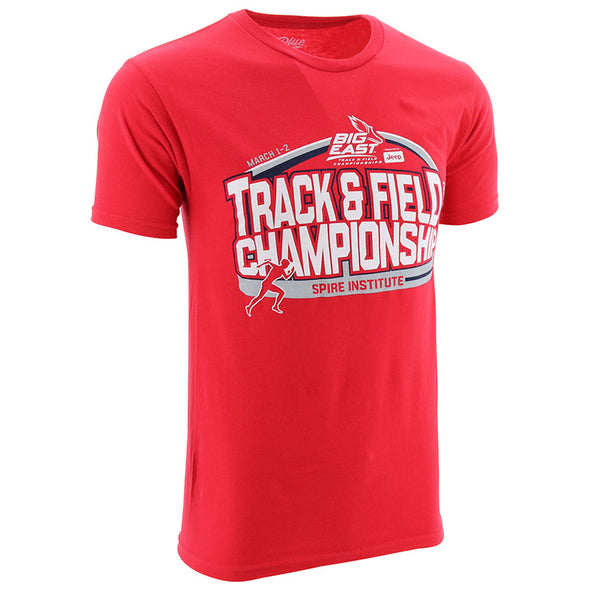 BIG EAST Track and Field Short Sleeve T-Shirt