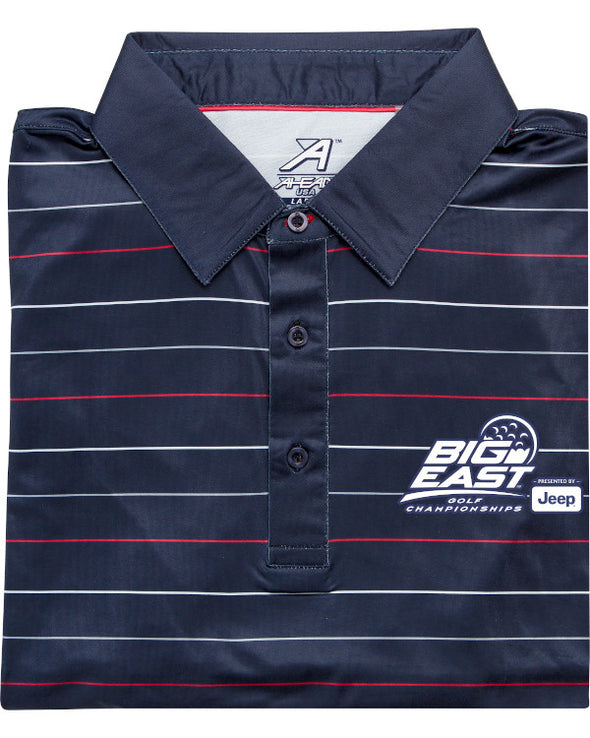 Big East Conference Reserve Stripe Golf Polo