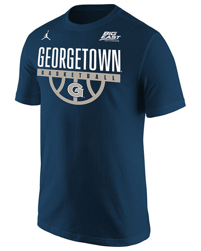 Big East Conference Georgetown Men's Basketball Short Sleeve T-Shirt