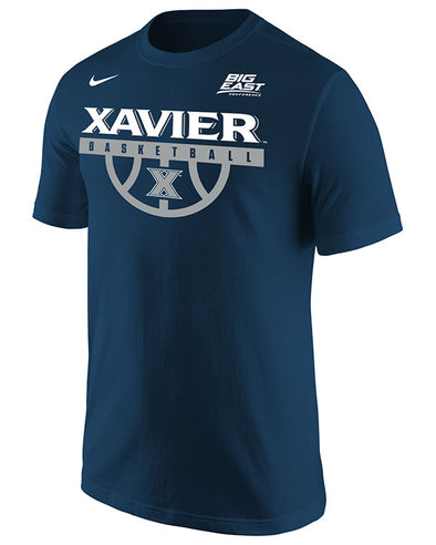 Big East Conference Xavier Men's Basketball Short Sleeve T-Shirt