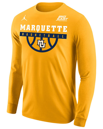 Big East Conference Marquette Men's Basketball Long Sleeve T-Shirt