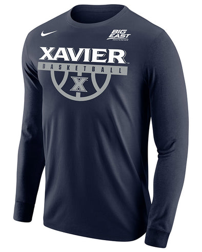 Big East Conference Xavier Men's Basketball Long Sleeve T-Shirt