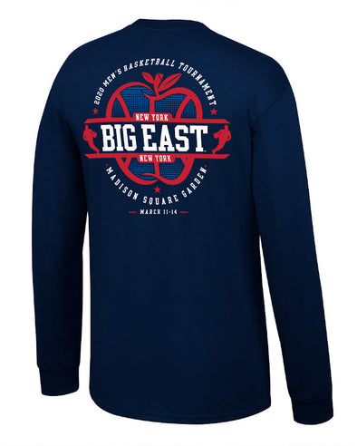Big East Conference Men's Basketball Big Apple Tourney Long Sleeve