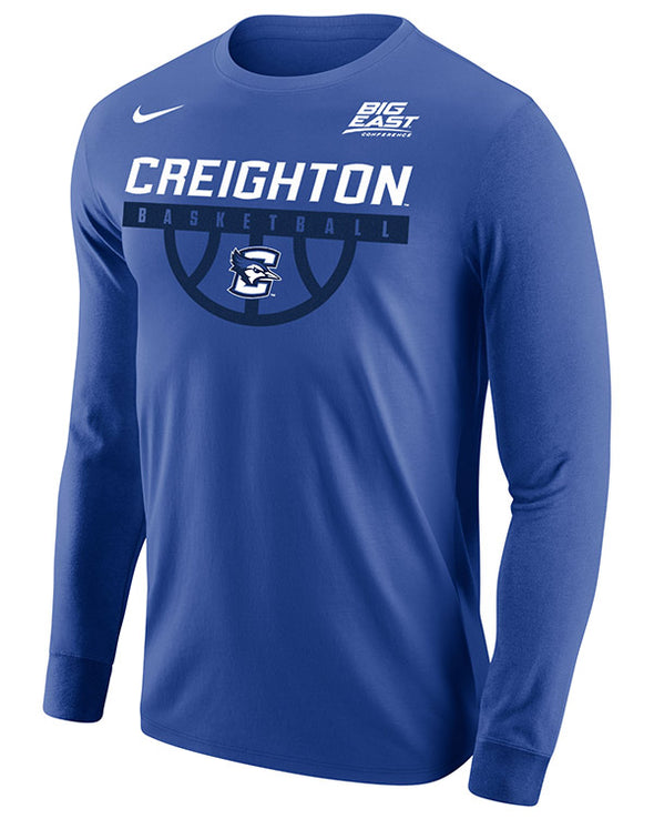 Big East Conference Creighton Men's Basketball Long Sleeve T-Shirt