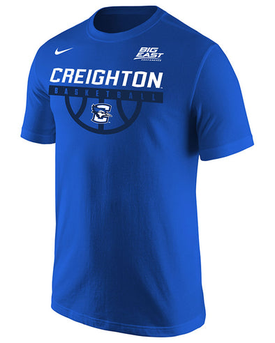 Big East Conference Creighton Men's Basketball Short Sleeve T-Shirt